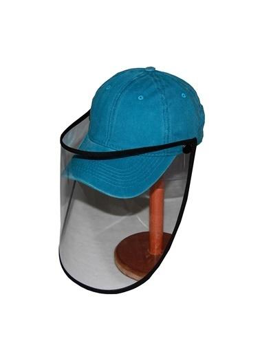 Bay Şapkacı Bay Şapkaci Koruyucu Yüz Siperli Lacivert Şapka Lacivert